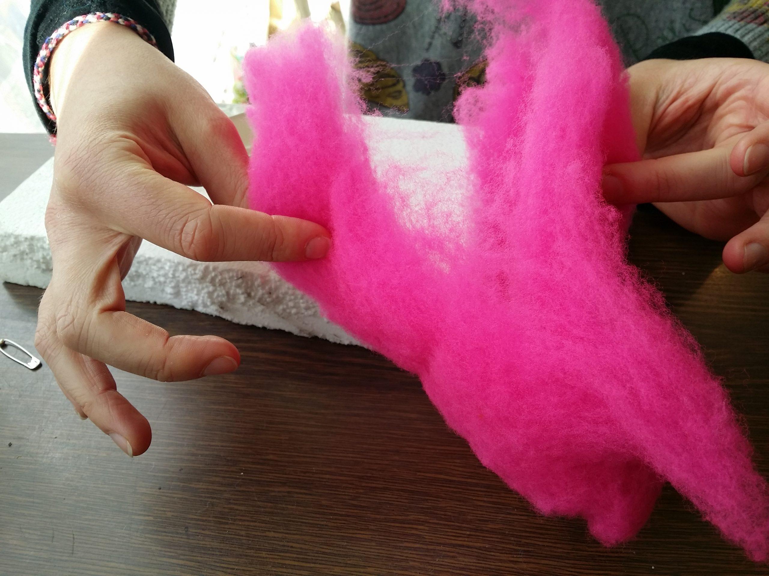 Atelier enfant / Feutre de laine